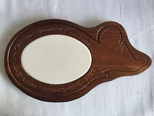 Mouse Shaped Cheese Cutting Board With Ceramic Cutting Stone Center