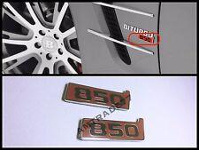 Brabus 850 emblem on front fenders for Mercedes Benz G S CLS E GLE set of 2 pcs
