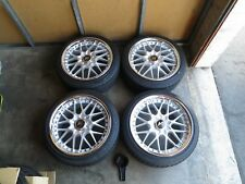 WORK VS MX 18x8.5 18x9.5 +45 5-4x114 AP1 AP2 SW20 RX7 S13 S14 IS300 FD3S 240SX