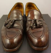 Brooks Brothers Alden Shell Cordovan Tassel Loafers 772 10.5D Leather Shoes