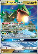 Pokemon TCG Rayquaza GX 109/168 Sun & Moon Celestial Storm Rare NM/M