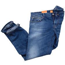 HUGO BOSS L34 Herren-Straight-Cut-Jeans aus Denim mit niedriger Bundhöhe (en)