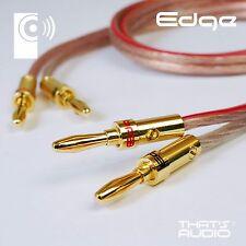 2m CUSTOM MADE Terminated Speaker Cable (2.5mm² OFC KONIG & EDGE Banana Plugs)