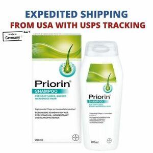 Bayer Priorin Anti Hair Loss Shampoo 200 ml – Ships from USA
