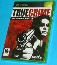 True Crime Streets of LA - Microsoft XBOX - PAL New Nuovo Sealed