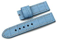 Handgefertigt 24mm Leder Uhrenarmband/Armband Watch Band Strap Für Panerai