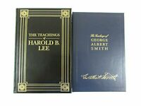 The Teachings of George Albert Smith & Harold B Lee 2 Vol Deluxe Leather HC Set