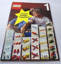 Lego 221 Ideen Buch Bauanleitungsheft 1973/1976 Katalog TOP A4 68 Seiten Vintage