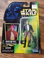1997 STAR WARS POWER OF THE FORCE BESPIN HAN SOLO