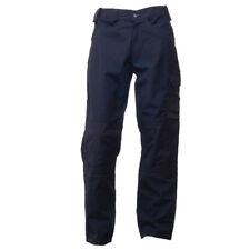 "Regatta Mens Premium Workwear Hard Wearing Walking Combat Cargo Trousers X2pairs Navy 52""w X 31""leg"
