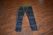 A9- Old Navy Active Black/Gray Pants Size Xs (5)