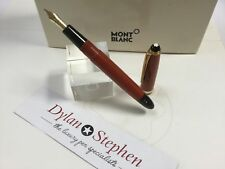 montblanc no204 vintage coral red 1950-54 Danish production fountain pen UNUSED