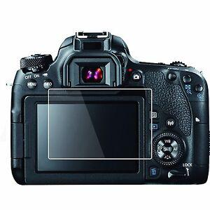 2 Sets HD LCD Screen Protector-Canon EOS Rebel T7i, 800D, Kiss X9i, 77D, 9000D