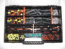 10 x AMP Superseal-Stecker 2+3-polig + Gummitüllen für Auto Motorrad Moto Morini