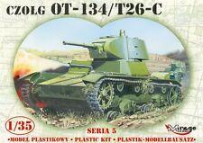 OT-134/T26C SOVIET LIGHT TANK, MIRAGE HOBBY 35309, SCALE 1/35