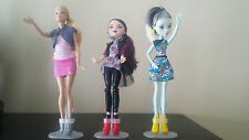 10 Pack of Doll Stands for 10