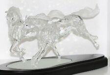 Swarovski Crystal Giant Figur Die Wilden Pferde mit Koffer Limitiert