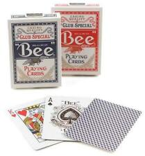 2 Bicycle Standard Index Bee Poker Casino Magic Playing Cards 1 Red 1 Blue Decks