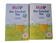 Hipp Tisane  fenouil Bio 2 boites  de 20 sachets