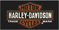 Harley Davidson Genuine Trademark Bath, Pool, Beach Towel 30x60 LICENSED!