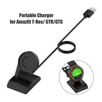 Charger Cable for Amazfit T-Rex GTR GTS Smartwatch USB Charging Adapter Cord