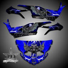 Yamaha YXZ1000R YXZ 1000 R Graphics Kit Wrap Decal Guardian Blue
