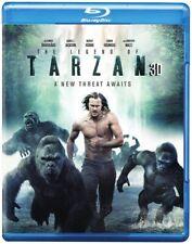 The Legend Of Tarzan [New Blu-ray 3D] With DVD, UV/HD Digital Copy, 3D, 3 Pack