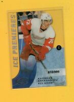1054 2015-16 Upper Deck Ice  #162  Andreas Athanasiou ROOKIE #/999 BK$31.25