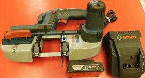 """Bosch GCB18V-2N 18V 2-1//2/"""" Compact Metal Cutting Band Saw Bare Tool"""