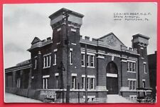 State Armory Pottstown Pa Unposted Db Postcard