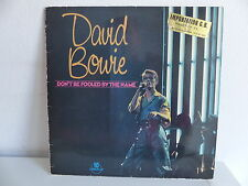 """david bowie dON'T BE FOOLED BY THE NAME dow1 25 Cms 10"""""""