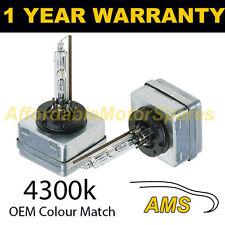 D1S Bianco Xenon HID Lampadine Faro Proiettore 4300K 35W FACTORY OE colore