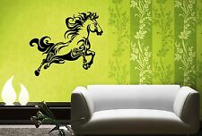Wall Stickers Vinyl Decal Horse Racing Tribal Animal Nature ig147