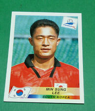 N°340 MIN SUNG LEE SOUTH KOREA PANINI FOOTBALL FRANCE 98 1998 COUPE MONDE WM
