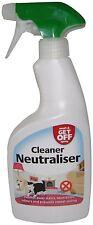 Wash & Get Off Cleaner Neutraliser Spray Urine Deodoriser for Cats & Dogs 500ml