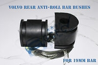 VOLVO REAR ANTI ROLL BAR BUSHES x2 for S80, S60 , V70 , XC70 etc. 19mm
