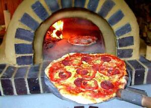 Wood fired pizza oven - Brick oven -  BBQ - Plans CD