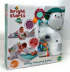 Bright Starts Tummy Time Prop & Play (Distressed Box)