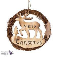 Guirlande de Noël marron pour la maison