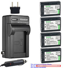 Kastar Battery Travel Charger for Sony NP-FH50 Sony Cyber-shot DSC-HX1 DSC-HX100