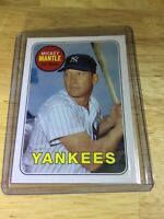 Mickey Mantle Topps 2010 No. CMT134 New York Yankees Babe Ruth Collector Card RP