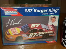 Nascar - Burger King - (# 87) Monte Carlo, Plastic Model Kit Car, Scale 1:24