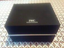 IWC Schaffhausen nuovissima confezione(watch box)originale per orologio