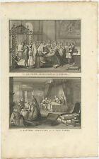 Le Bapteme Administré par un Prêtre (..) - Picart (1722)