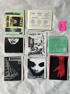 Punk Fanzine Collection of 8- Born To Kill, Support, Blurt, Signal, Etc. Zine