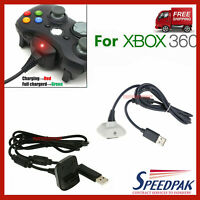 Wireless Game Controller USB Charging Cable Rechargeable battery  For Xbox 360