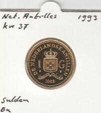 Netherlands Antilles 1 gulden 1993 BU - KM37