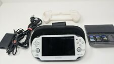 Sony PlayStation PS Vita PCH-1001 Console Bundle Games Charger 32 GB Case Grip