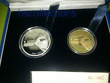 Malaysia KTM Proof Coin Set of 2 2010