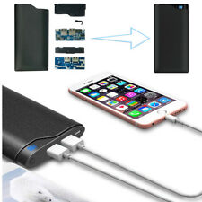 Portable 10000mAh Dual USB Battery Charger LED Digital Display Power Bank Case